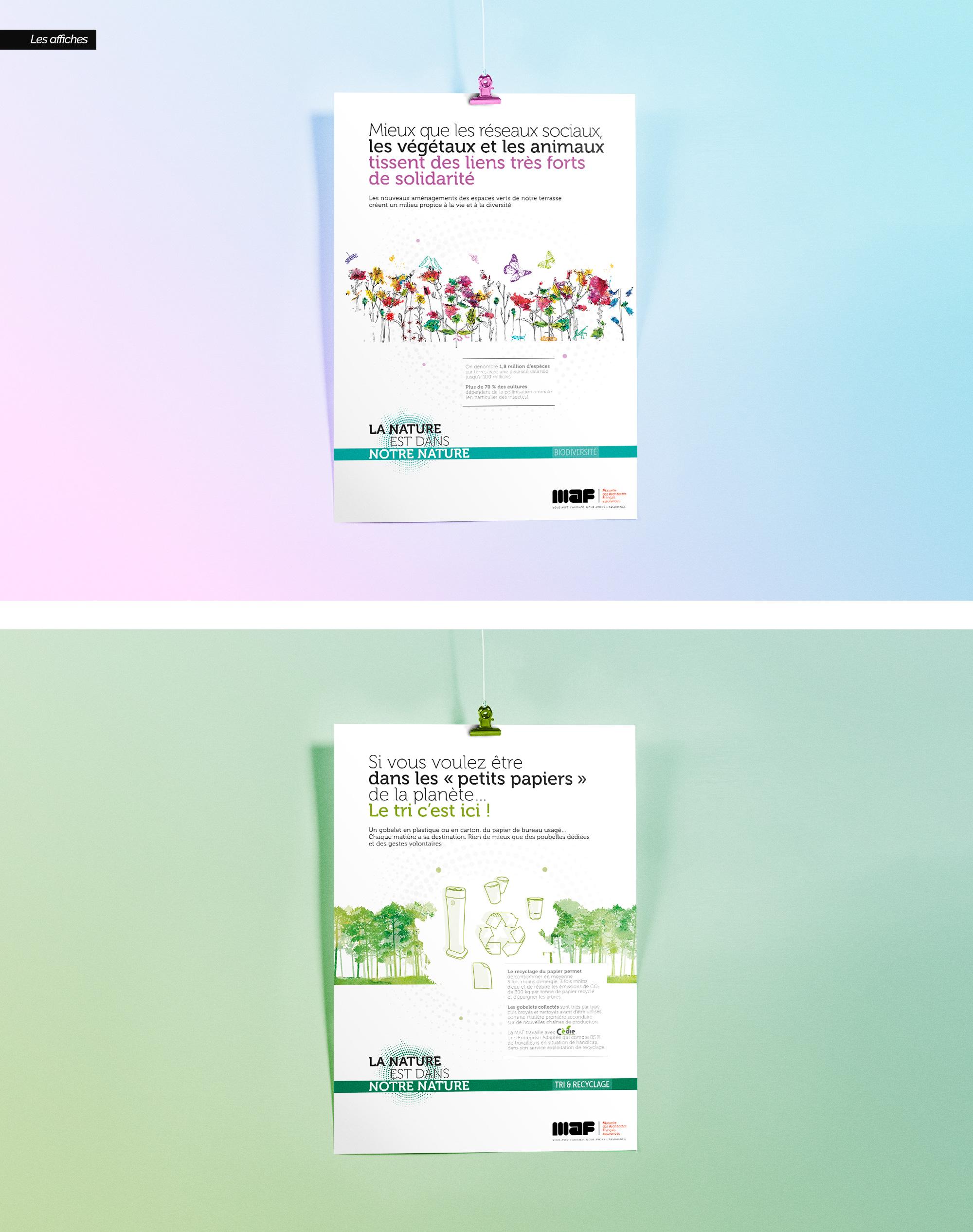 Affiche campagne environnement