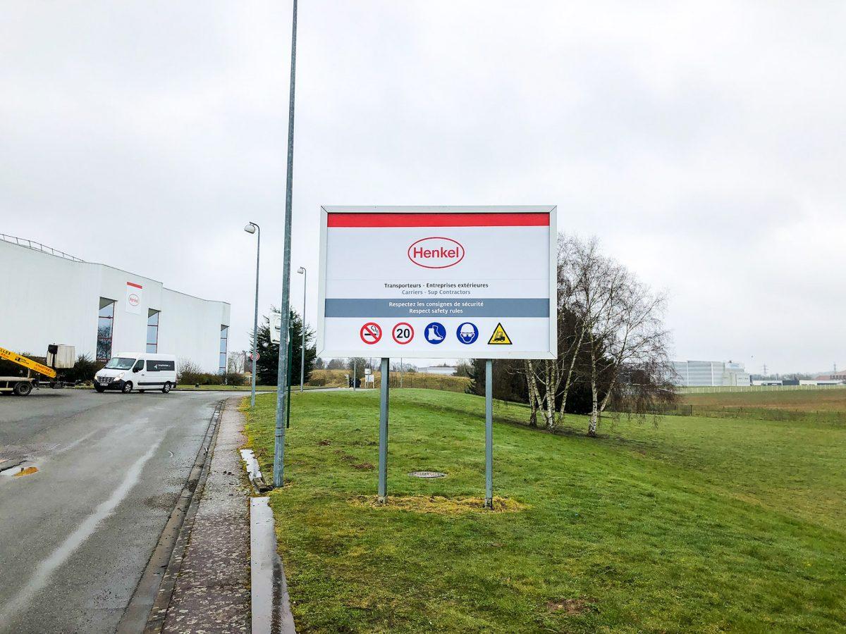 signalétique sur site industriel
